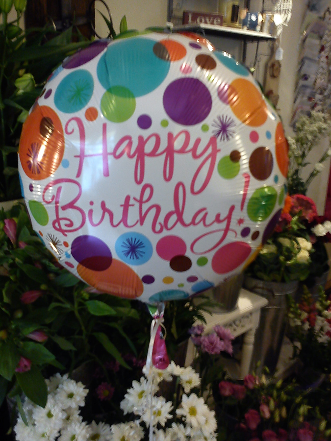 Balloons from Fine Flowers of Rugeley