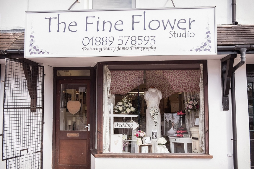 Wedding flowers by Staffordshire Florist in Rugeley by Rugeley Floral Studio Fine Flowers