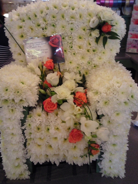Funeral Flowers and Floral Arrangements by Rugeley Florist Fine Flowers