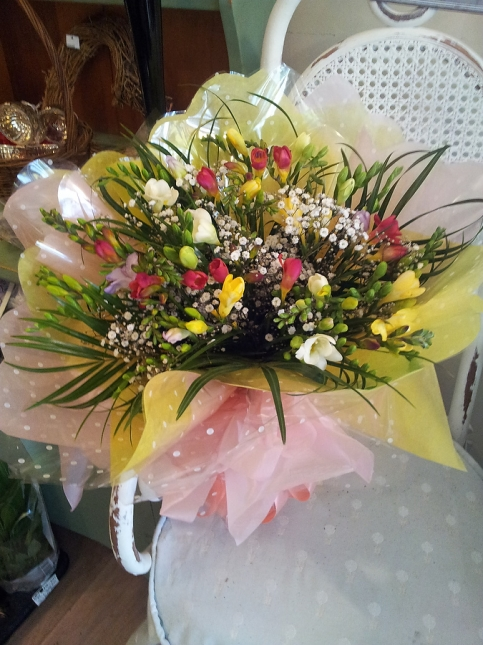 Handtied Arrangements Flowers - Rugeley Florist Fine Flowers
