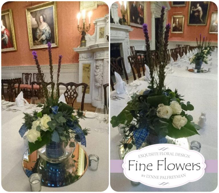 A look at our Burns Night Flower Arrangements for Weston Park