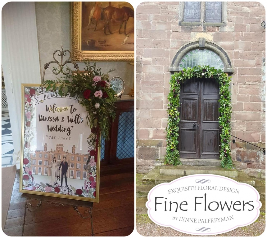 September wedding flowers at Weston Hall Fine Flowers