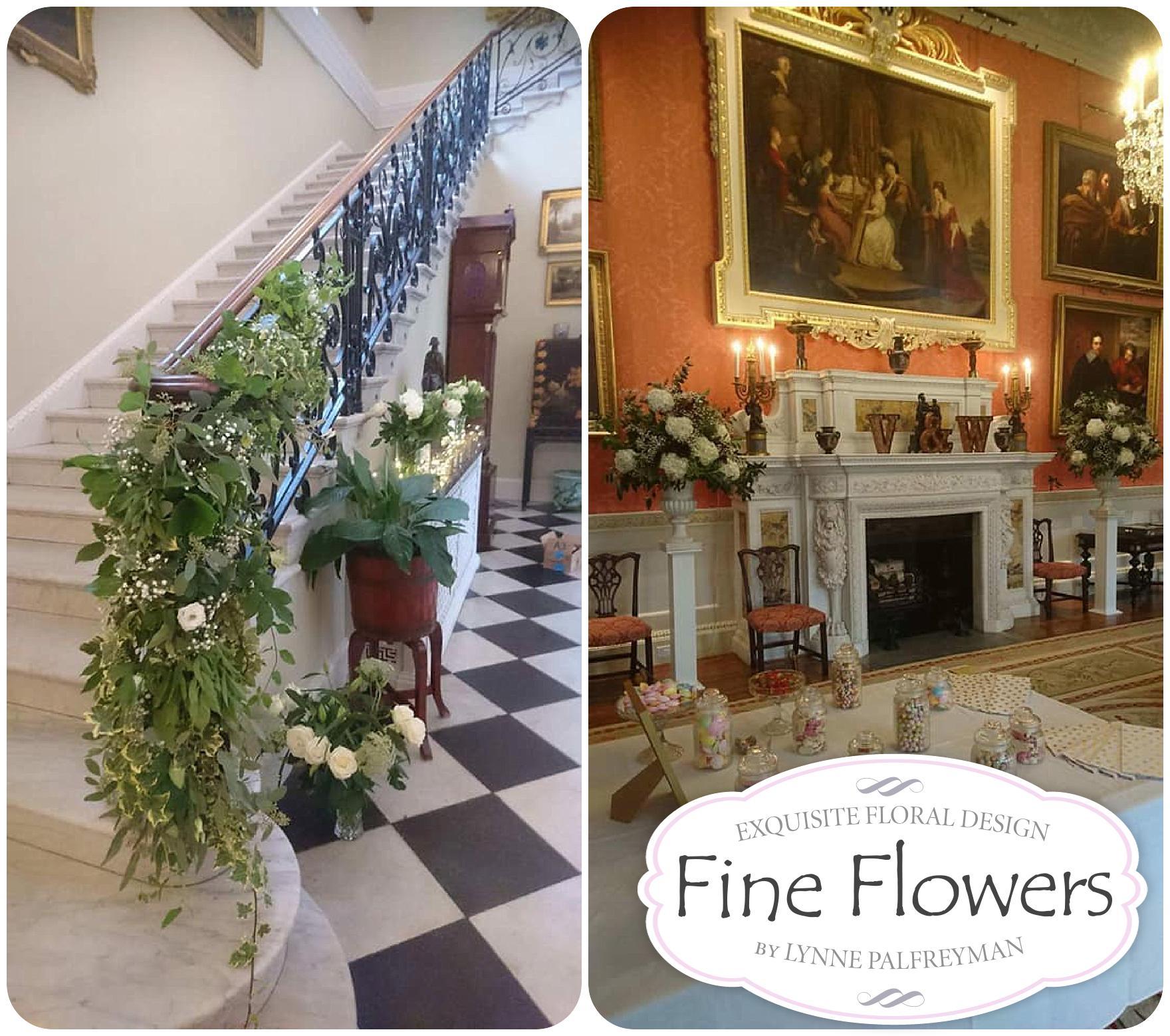 September wedding flowers at Weston Hall Fine Flowers