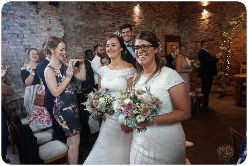 Lichfield Barn Wedding Flowers at Packington Moor Fine Flowers