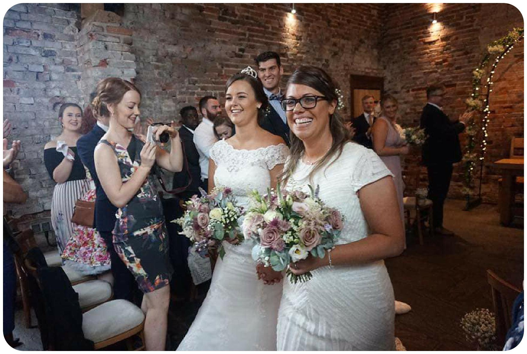 Lichfield Barn Wedding Flowers at Packington Moor Fine Flowers