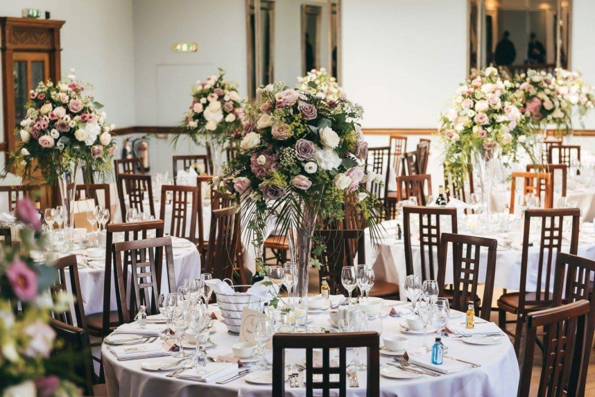 Pendrell Hall Recommended Wedding Flowers by Rugeley Florist Fine Flowers