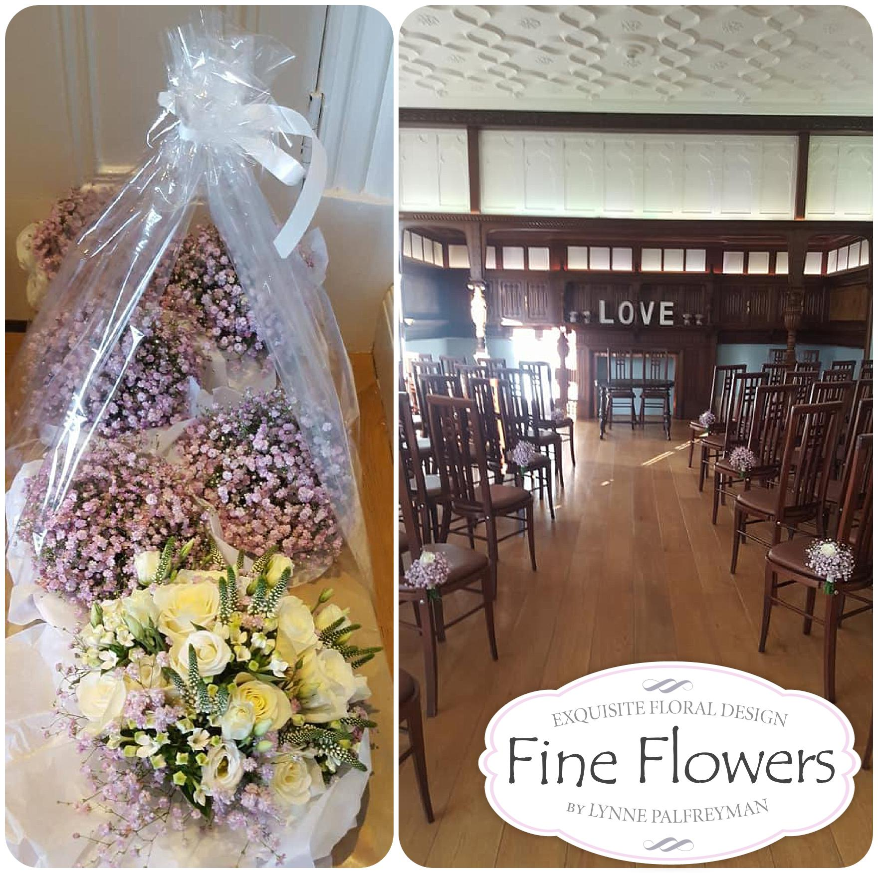 Wedding flowers at Pendrell Hall Fine Flowers