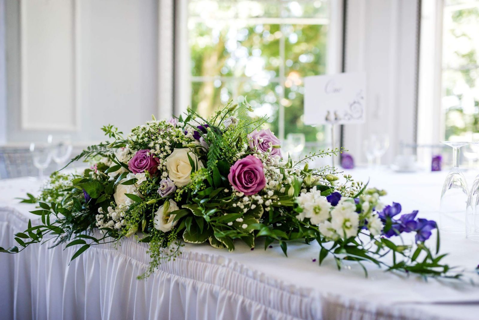 Somerford Hall Recommended Wedding Flowers by Rugeley Florist Fine Flowers