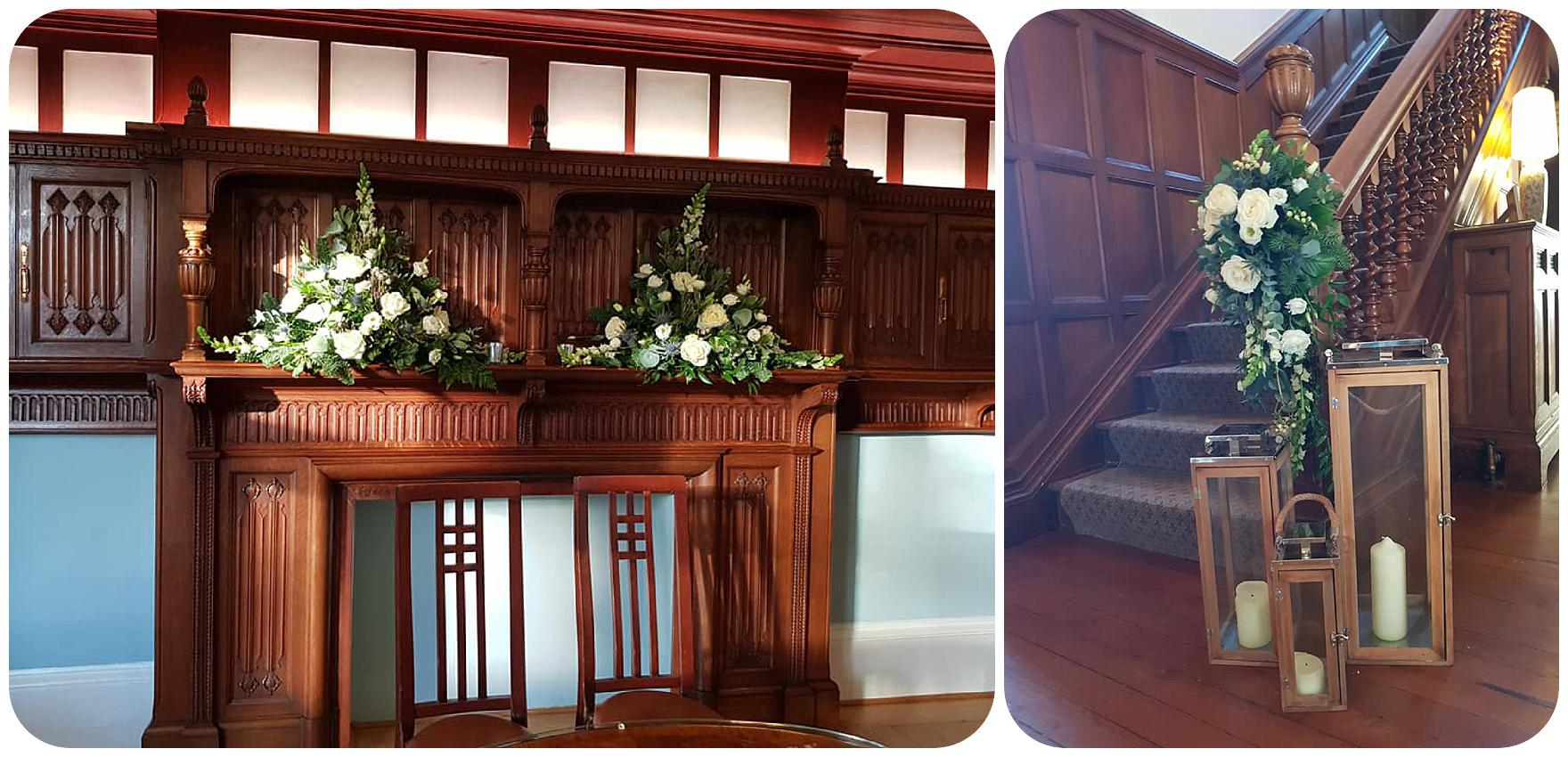 Pendrell Hall Wedding Flowers by Dream Team Florist in Rugeley by Rugeley Floral Studio Fine Flowers