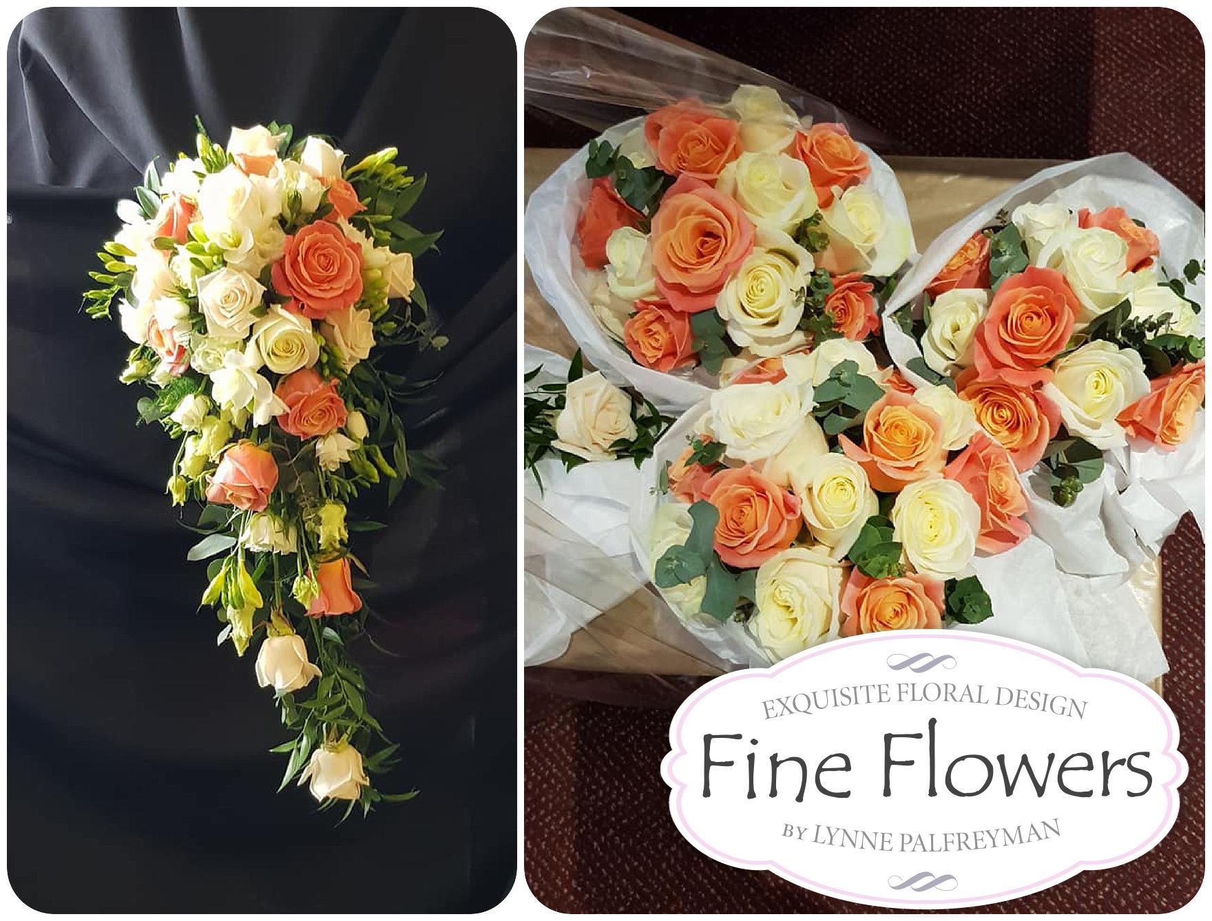 Wedding flowers for James + Rebecca