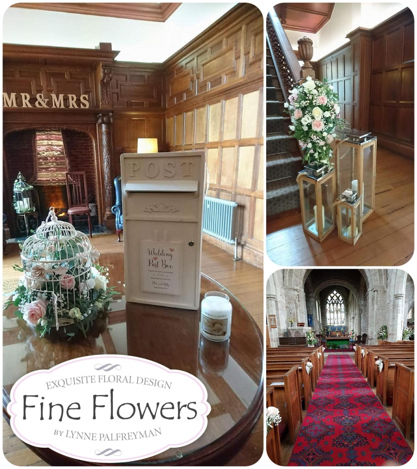Wedding flowers for Kerry and Phil