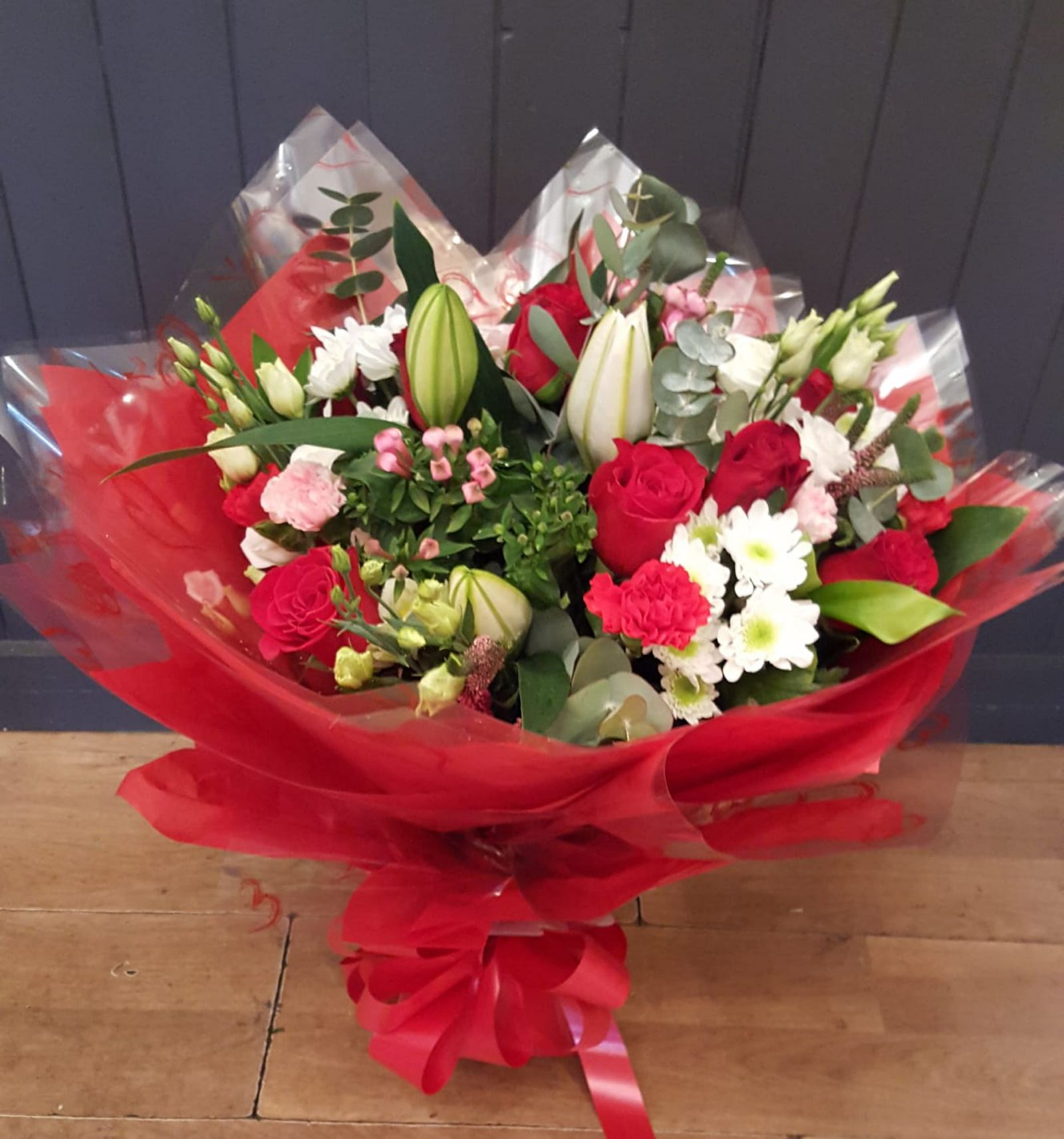 Wedding and special occasion flowers by Rugeley Florist in Staffordshire by Rugeley Floral Studio Fine Flowers