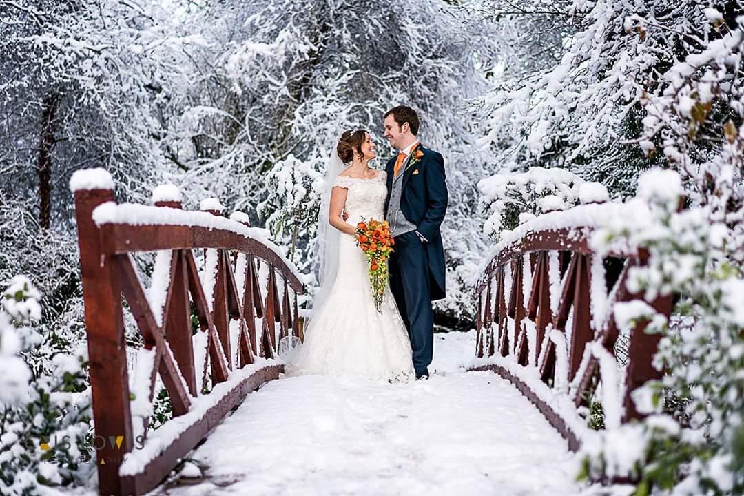Winter wedding flowers by Rugeley Florist - Rugeley Floral Studio Fine Flowers