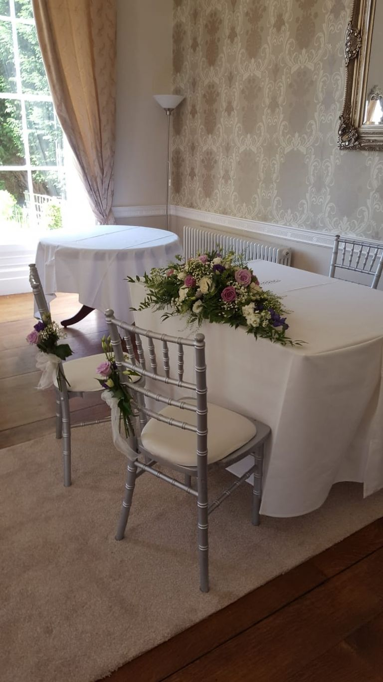 Civil ceremonies for your wedding by Rugeley Florist - Rugeley Floral Studio Fine Flowers
