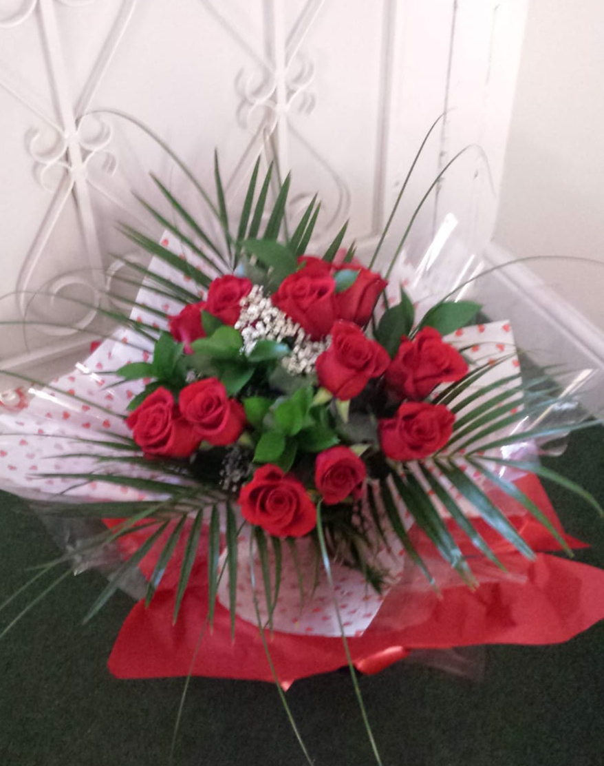 Valentines flowers by Rugeley Florist by Rugeley Floral Studio Fine Flowers