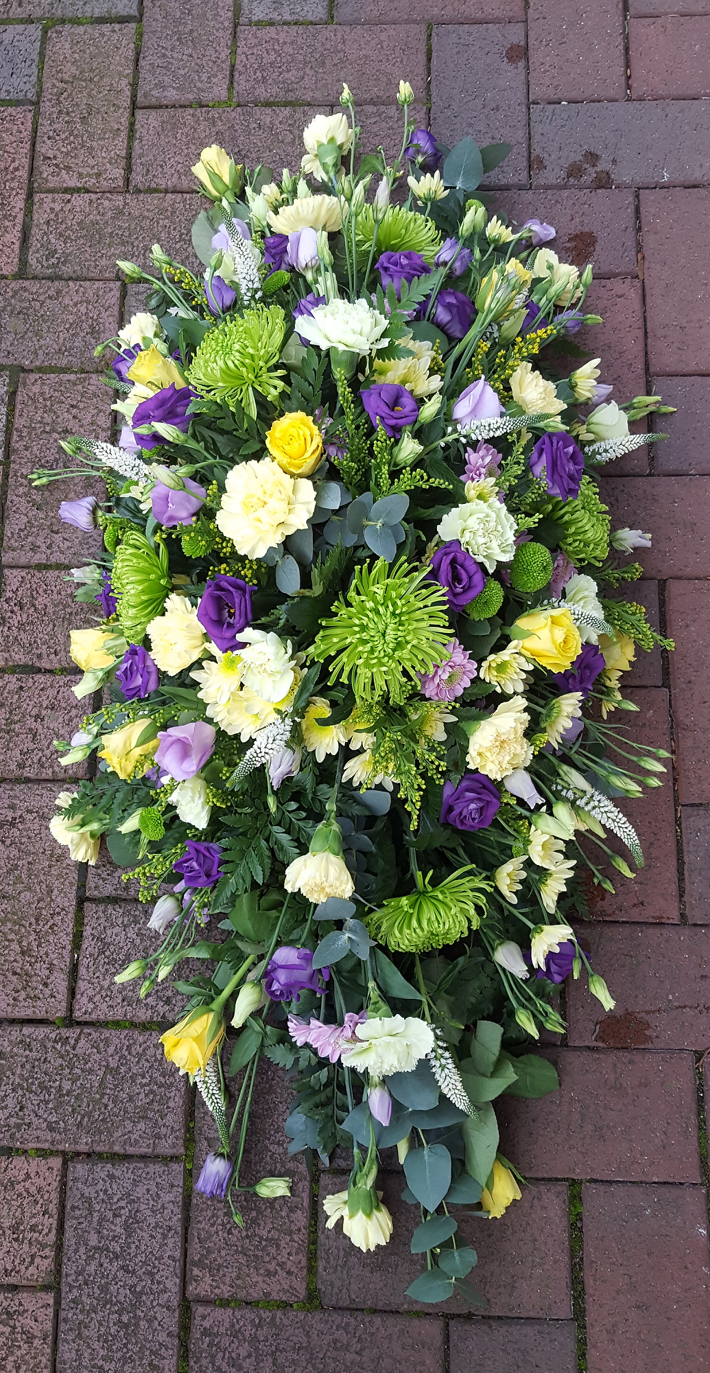 Hand crafted and personally designed funeral flowers and funeral floral arrangements by Rugeley Florist - Rugeley Floral Studio Fine Flowers