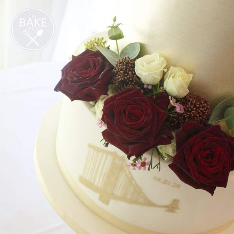 Gorgeous wedding flowers for your Staffordshire wedding by Recommended Rugeley wedding florist - Rugeley Floral Studio Fine Flowers