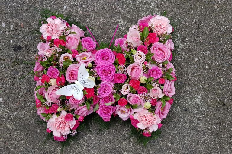 Beautiful funeral flowers and funeral arrangements by Trusted Staffordshire florist - Rugeley Floral Studio Fine Flowers