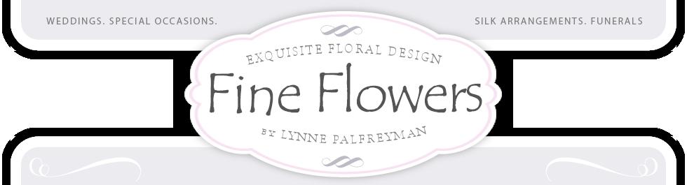 Fine Flowers by Lynne Palfreyman logo