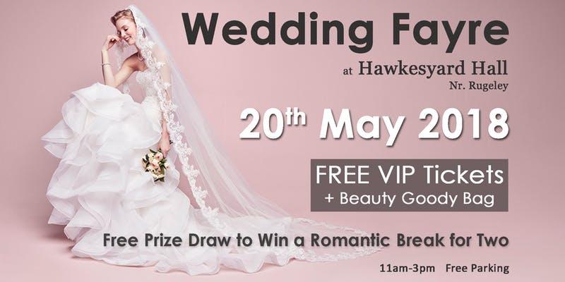 Hawkesyard Hall Wedding Fayre