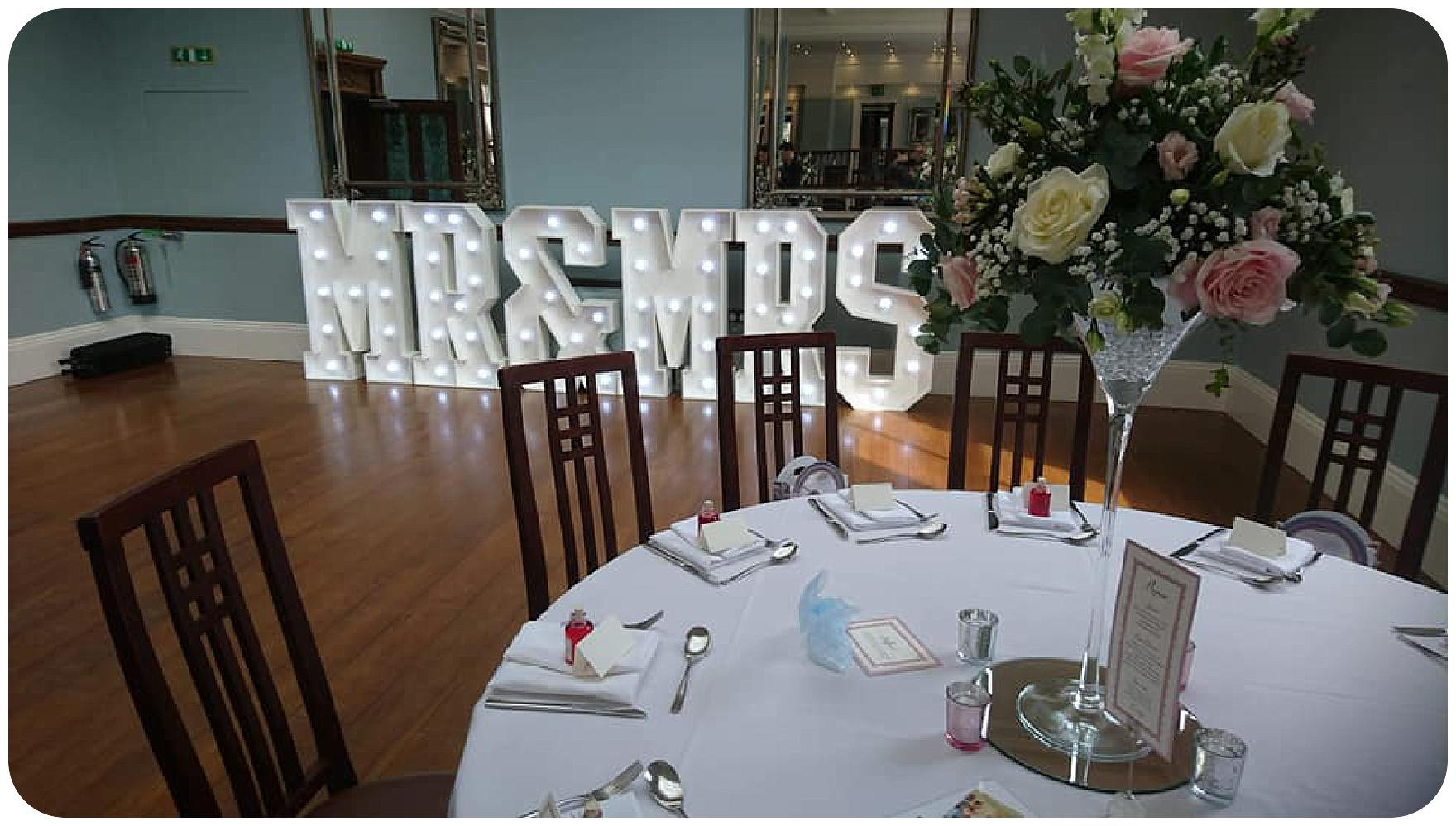 Wedding flowers for Kerry and Phil's wedding by Rugeley Wedding Florist at Pendrell Hall by Pendrell Hall Wedding Florist Fine Flowers