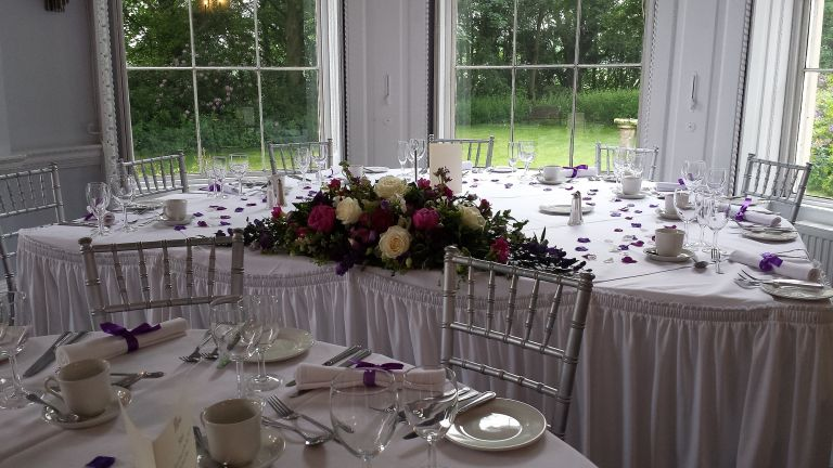 Gorgeous wedding flowers for your Somerford Hall wedding by Recommended Somerford Hall wedding florist - Rugeley Floral Studio Fine Flowers