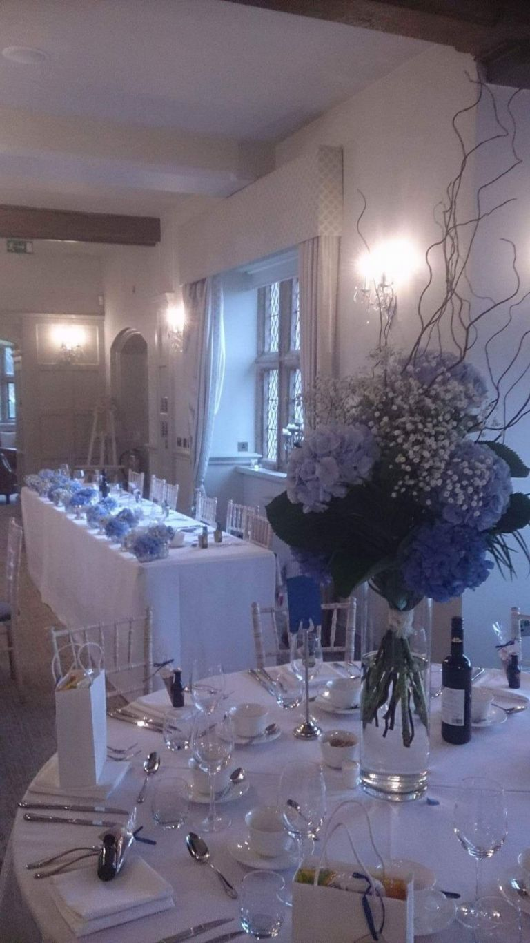 Weston Hall Recommended Wedding Flowers by Rugeley Florist Fine Flowers