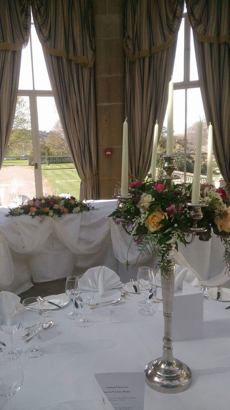 Gorgeous wedding flowers for your Weston Park wedding by Recommended Weston Park wedding florist - Rugeley Floral Studio Fine Flowers