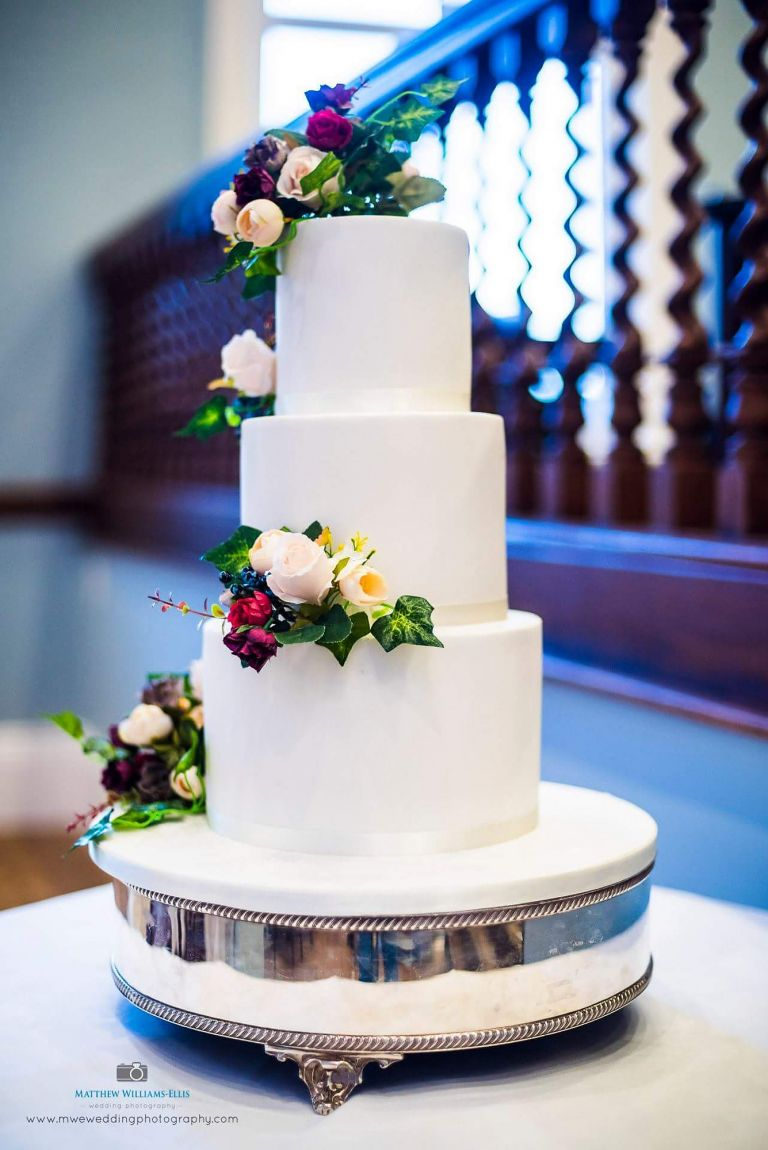 Gorgeous wedding reception flowers for your Staffordshire wedding by Recommended Rugeley wedding florist - Rugeley Floral Studio Fine Flowers