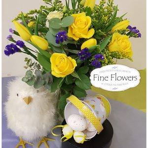 Easter Chick Flower Arrangement