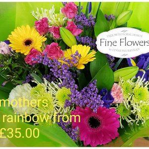 Mothers Rainbow Bouquet