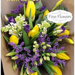 Mum Loves Spring Hand-tied Bouquet